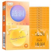 第6感 透润超紧透明质酸避孕套 10只装