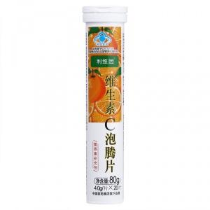 利维因 维生素C泡腾片 80g(4.0g*20片)