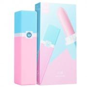 羞羞噠 UU蛋便攜式女性自慰器 XXD20180822-01 粉色&藍色 1個