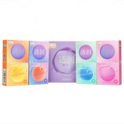 第6感 透润四合一避孕套(超薄透明质酸10只+超紧透明质酸10只+超润滑透明质酸10只+凸点透明质酸10只) 40只