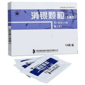 万花山 消银颗粒(无糖型) 3.5g*12袋