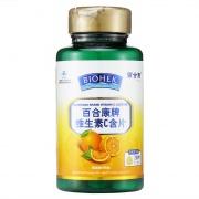 百合康 百合康牌维生素C含片 36g(1.2g*30片)/瓶