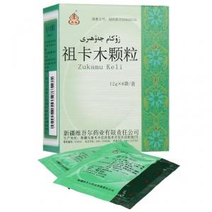 维吾尔 祖卡木颗粒 12g*6袋