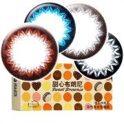 海昌 甜心布朗尼軟性親水接觸鏡半年拋 Eye Secret Color半年拋 1片裝