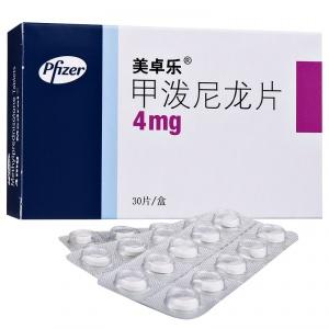 美卓乐 甲泼尼龙片 4mg*30片/盒