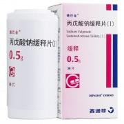 德巴金 丙戊酸钠缓释片(I) 0.5g*30片