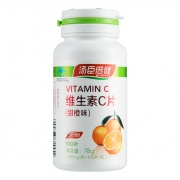 汤臣倍健 维生素C片(甜橙味) 78g(780mg*100片)